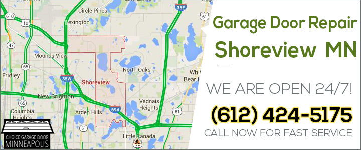 Garage Door Repair Shoreview Mn Pro Garage Door Service