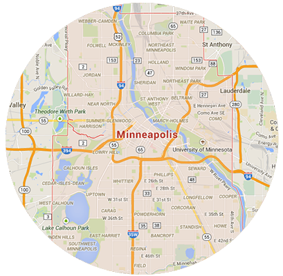 Minneapolis Garage Door Service Areas
